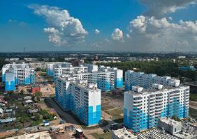 518 тыс. кв.м. жилья построили в Новосибирске за январь-июль 2012