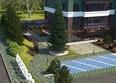 Жилой комплекс Green Park ж/к: Макет благоустройства придомовой территории