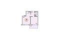 БЕЛЫЕ РОСЫ МКР, 30 дом: Планировка двухкомнатной квартиры 48,8 кв.м