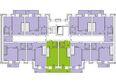 Жилой комплекс СНЕГИРИ ж/к,  2 дом: 2 секция 10 этаж (двухуровневые)