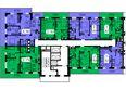 Жилой комплекс ТИХИЕ ЗОРИ мкр, 2 дом (Красстрой): 1 секция. Планировка 21 этажа