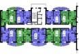 Жилой комплекс БЕЛЫЕ РОСЫ мкр, 24 дом: 2 секция