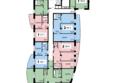 ОРБИТА ж/к, 1 оч: Секция 3, 1 этаж
