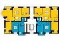 ПРЕОБРАЖЕНСКИЙ мкр, 18 дом: 8 секция, типовой этаж