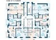МАЛИНА ж/к: Планировка 2-4 этажей