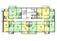 Иннокентьевский, 3 мкр, 5 дом: Подъезд 1-4, 15-16 этажи