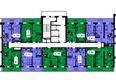 Жилой комплекс ТИХИЕ ЗОРИ мкр, 2 дом (Красстрой): 2 секция. Планировка 21 этажа