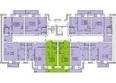 Жилой комплекс СНЕГИРИ ж/к,  2 дом: 2 секция 9 (двухуровневые)