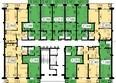 СЕРЕБРЯНЫЙ мкр, квр 1, 2 дом: Типовая планировка, д.2, секция 2