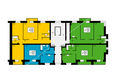 ПРЕОБРАЖЕНСКИЙ мкр, 20 дом: Блок 1, секция 1, 2-7 этажи