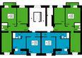 ПРЕОБРАЖЕНСКИЙ мкр, 18 дом: 2 секция, типовой этаж