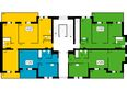 ПРЕОБРАЖЕНСКИЙ мкр, 19 дом: 3 блок, 1 секция,7 этаж