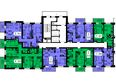 Жилой комплекс ТИХИЕ ЗОРИ мкр, 1 дом (Красстрой): Блок-секция 1. Этажи 2-19