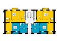 ПРЕОБРАЖЕНСКИЙ мкр, 20 дом: Блок 1, секция 2, 2-6 этажи