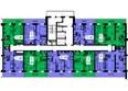 Жилой комплекс ТИХИЕ ЗОРИ мкр, 1 дом (Красстрой): Блок-секция 2. Этажи 20-25