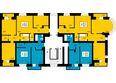 ПРЕОБРАЖЕНСКИЙ мкр, 18 дом: 7 секция, типовой этаж