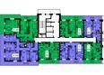 Жилой комплекс ТИХИЕ ЗОРИ мкр, 1 дом (Красстрой): Блок-секция 1. Этажи 20-25