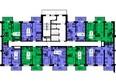 Жилой комплекс ТИХИЕ ЗОРИ мкр, 1 дом (Красстрой): Блок-секция 2. Этажи 2-19