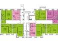 Жилой комплекс СНЕГИРИ ж/к,  2 дом: 3 секция 1 этаж