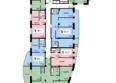 ОРБИТА ж/к, 1 оч: Секция 5, 1 этаж