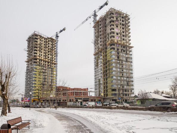 Фото новостроек ПАРАЛЛЕЛИ ж/к, 1, 2 этап, 1 февраля 2016