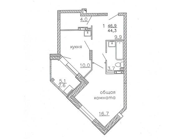 Планировки Жилой комплекс Караульная, 6 дом, 3 оч