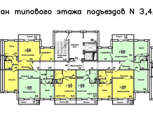 Планировки новостроек Нанжуль-Солнечный мкр, 2 дом - 3-5 подъезд