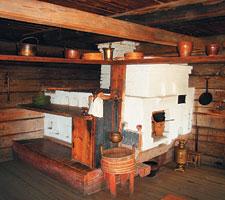 В деревенской глубинке до сих пор сохранился традиционный кухонный уклад